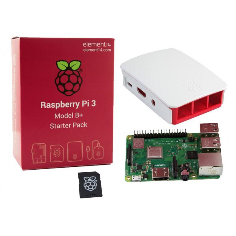 RASPBERRY PI 3 MODEL B+ (PLUS) OFFICIAL STARTER KIT