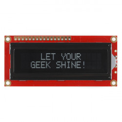 SERIAL ENABLED 16X2 LCD -...