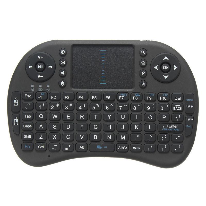 mini wireless handheld keyboard 2 4g w touchpad. Black Bedroom Furniture Sets. Home Design Ideas