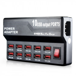 USB CHARGER 10 PORT 12A