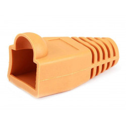 RJ-45 RUBBER BOOT ORANGE 10...