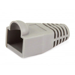 RJ-45 RUBBER BOOT GRAY 10 PCS