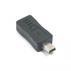 USB ADAPTER, MINI (M) TO...