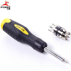 SCREW DRIVER, RT-1613 6-IN-1
