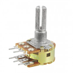 DUAL POTENTIOMETER, B500K,...