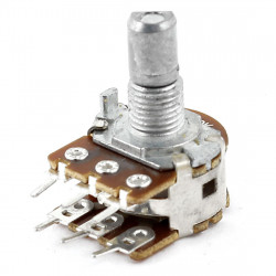 POTENTIOMETER B5K W/SWITCH,...