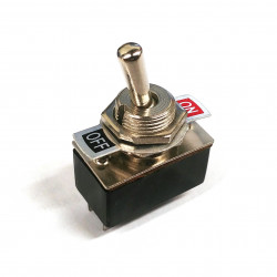 TOGGLE SWITCH, 2 X SPST, NO...