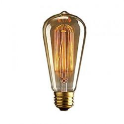 VINTAGE LIGHT BULB E26 40W...