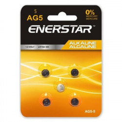 BATTERIES ALKALINE 1.5V AG5...