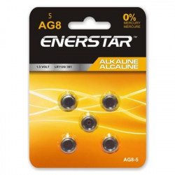 BATTERIES ALKALINE 1.5V AG8...