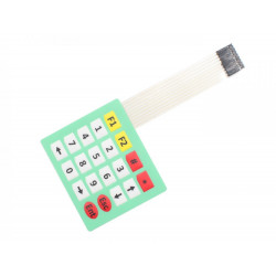 MEMBRANE KEYPAD, 4X5, 20 KEYS
