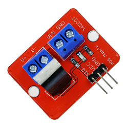 IRF520 POWER MOSFET BREAKOUT