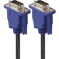 VIDEO CABLE, VGA, M/M, 1.5M