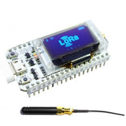 SX1276, ESP32, OLED, WIFI...
