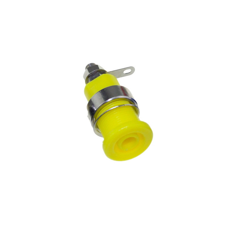 4MM SEAL INSULATED SAFETY PROTECTION BINDING POST YELLOW