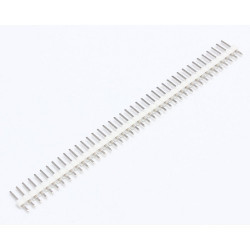 HEADER PINS 1X40, WHITE