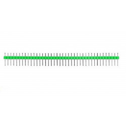 HEADER PINS 1X40, GREEN