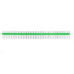 HEADER PINS 1X40, GREEN