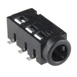 3.5MM 4 POLES PCB JACK PJ-320D
