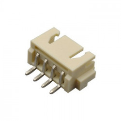 CONNECTORS, JST, XH, 4PIN,...