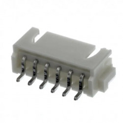 CONNECTORS, JST, XH, 6PIN,...