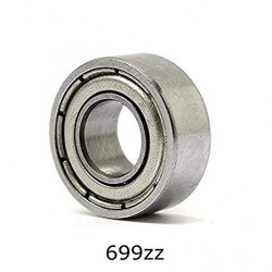 RADIAL BALL BEARING 699ZZ,...