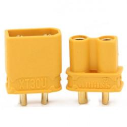 CONNECTORS, XT30 - M/F (PAIR)