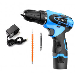 POWER DRILL, 12VDC, LI-ION...