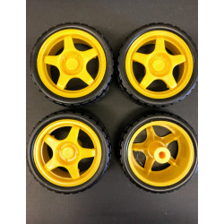 TOY WHEELS D65MM 4PCS/SET