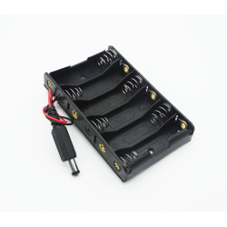 BATTERY HOLDER, AAX6,...