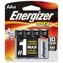 ENERGIZER MAX AA, E91BP-4,...