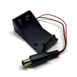 BATTERY HOLDER, 9V OPEN,...