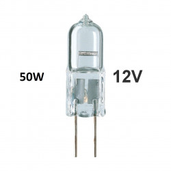 LAMP 12V 50W HALOGEN G4