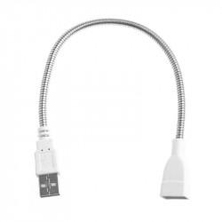 USB A-A M/F METAL GOOSE...