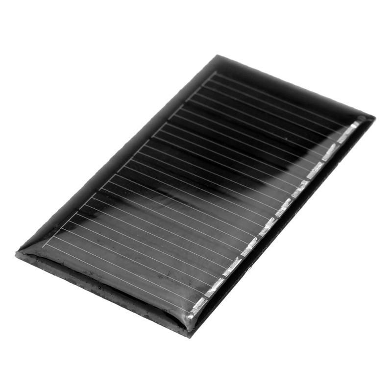 Solar Panel 6v 54ma 0 34w 64x39mm