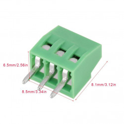 TERMINAL BLOCK 2.54MM 3 PIN...
