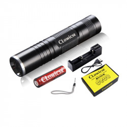 LED FLASHLIGHT, ALUMINUM,...