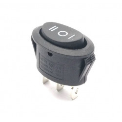 OVAL ROCKER SWITCH, SPDT,...