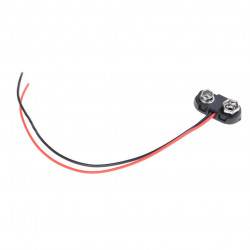 BATTERY HOLDER, 9V CLIP,...