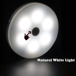 LED PUCK LIGHT, WHITE/...