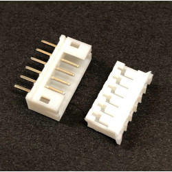 CONNECTORS, JST, PH, 6PIN,...