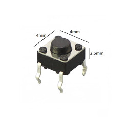 TACT SWITCH 4X4X2.5MM