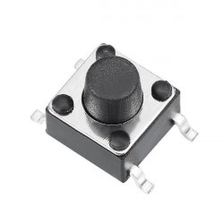 TACK SWITCH SMD 4.3MM MTS1132
