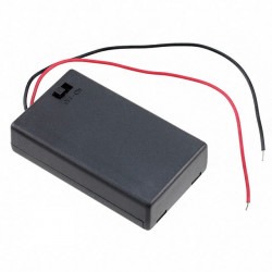 BATTERY HOLDER, AAx3,...
