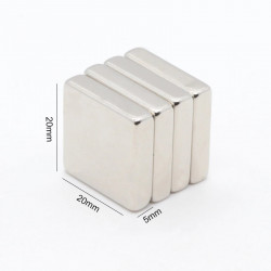 MAGNET SQUARE 20x20x5MM