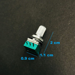 POTENTIOMETER, B100K, PCB,...