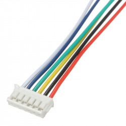 JUMPER WIRE, JST, ZH, 6PIN,...