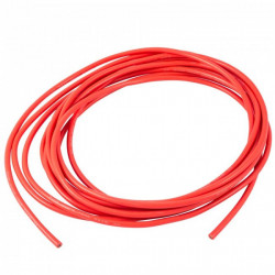 HOOK UP WIRE 22AWG RED -...