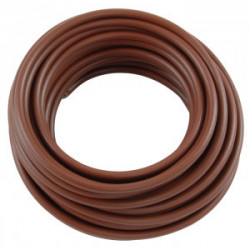 HOOK UP WIRE 18AWG BROWN -...