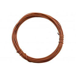HOOK UP WIRE 22AWG BROWN -...